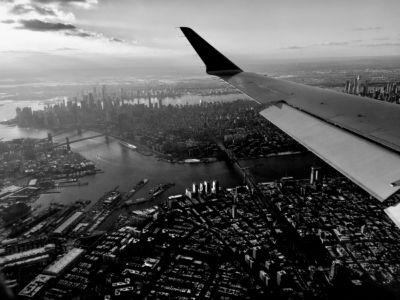 Headed to LaGuardia
