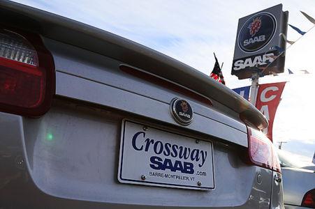 Saab-dealern i Vermont