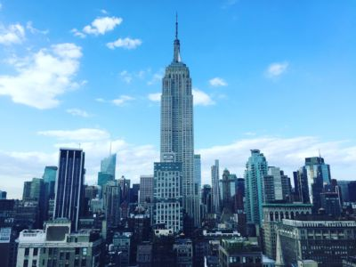 Spectacular view from the 230/Fifth Rooftop Garden