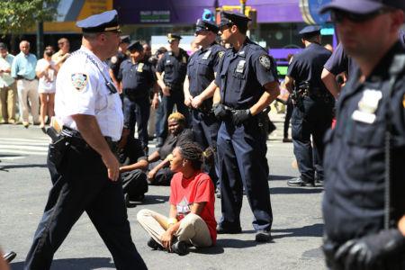 Kamp för högre löner i NYC
