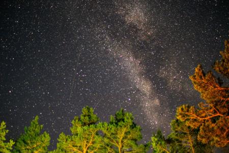 Stjärnklart över Roslagen