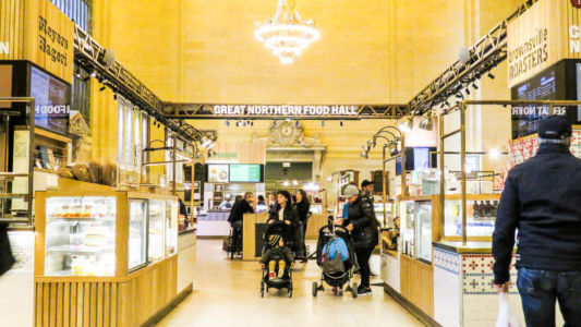 Great Nordic Food Hall, Grand Central