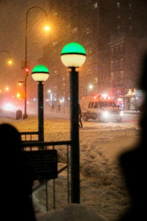 Vinterkaos i New York City 2016