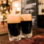 Mörk öl på McSorley's Old Ale House, E7th Street